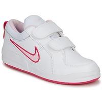 Zapatos Niña Zapatillas bajas Nike PICO 4 PSV Blanco / Rosa