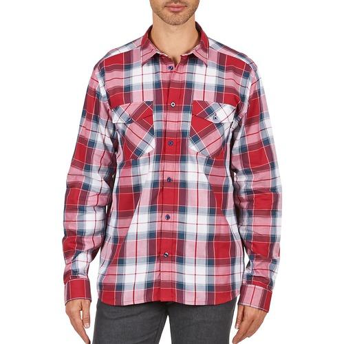 textil Hombre camisas manga larga Wesc JOEY Rojo
