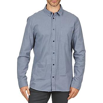 textil Hombre camisas manga larga Wesc YANIK Azul
