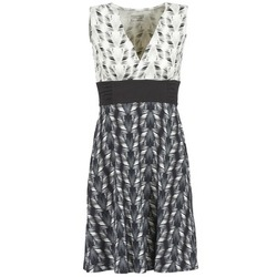 textil Mujer vestidos cortos Patagonia MARGOT Negro / Blanco