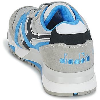 Diadora N9000 NYL Gris / Azul / Negro