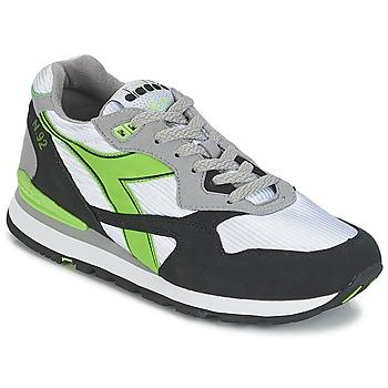 Zapatos Zapatillas bajas Diadora N-92 Blanco / Negro / Verde
