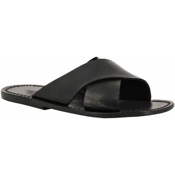 Zapatos Mujer Zuecos (Mules) Gianluca - L'artigiano Del Cuoio 560 U NERO CUOIO nero