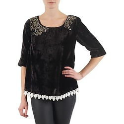textil Mujer Camisetas manga larga Lollipops PILOW TOP Negro