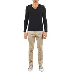 textil Hombre pantalones chinos Kulte PANTALON INJECTION 101805 BEIGE Beige