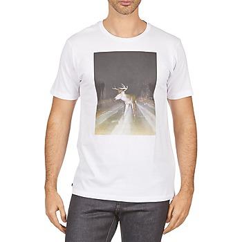 textil Hombre camisetas manga corta Kulte BALTHAZAR PLEIN PHARE 101931 BLANC Blanco