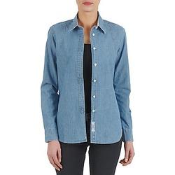 textil Mujer camisas Kulte CHEMISE CIRCUIT 101826 BLEACH Azul