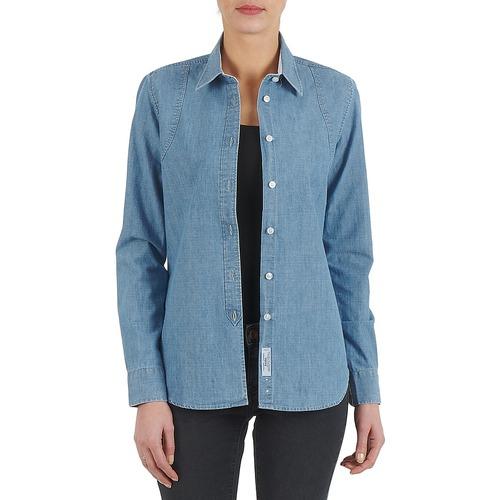 Kulte CHEMISE CIRCUIT 101826 BLEACH Azul - Envío gratis | ! - textil camisas Mujer