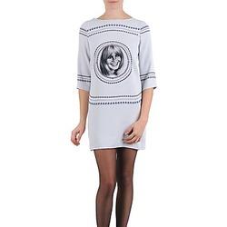 textil Mujer vestidos cortos Brigitte Bardot BB43121 Gris