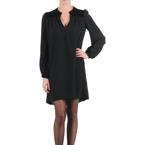 textil Mujer vestidos cortos Brigitte Bardot BB43119 Negro