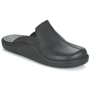 Zapatos Hombre Pantuflas Romika MOKASSO 202 G Negro