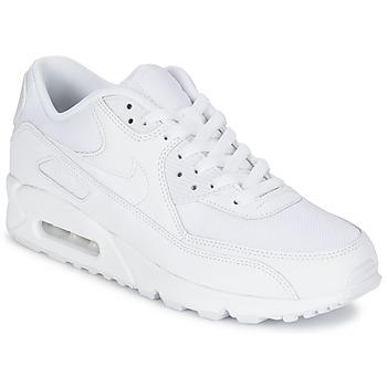 Zapatos Hombre Zapatillas bajas Nike AIR MAX 90 ESSENTIAL Blanco
