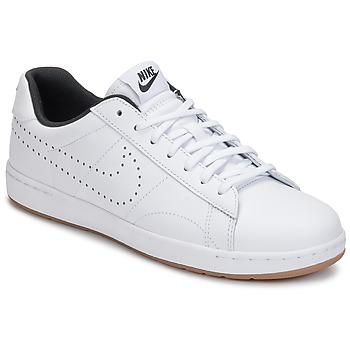 Zapatos Mujer Zapatillas bajas Nike TENNIS CLASSIC ULTRA LEATHER W Blanco / Negro