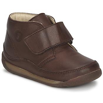 Zapatos Niño Botas de caña baja Naturino  Marrón