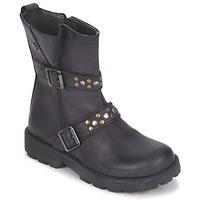 Zapatos Niña Botas de caña baja Naturino  Negro