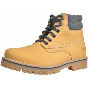 Zapatos Niña Botas de caña baja Alpe 46157 12 Marron