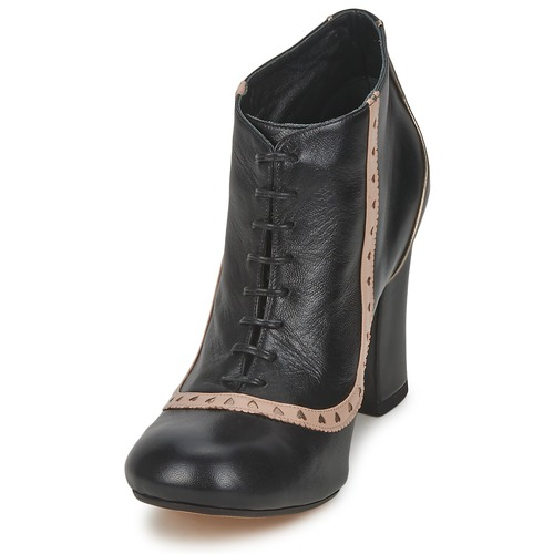 Mujer Boots Negro Boots Low Low Mujer Negro Low CWroedxB