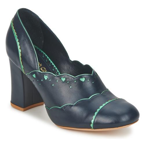 Zapatos promocionales Sarah Chofakian SCHIAP Marino / Menta  Descuento de la marca