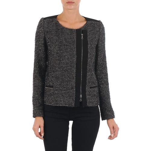 textil Mujer Chaquetas / Americana Lola VIE LUREX Negro / Beige