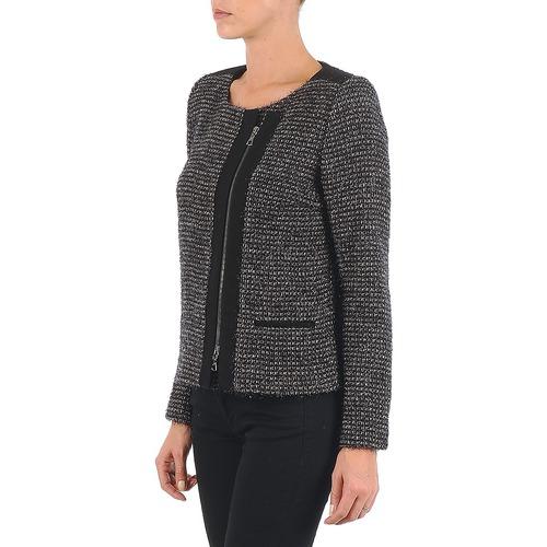 Lurex Textil Beige Lola Negro Vie ChaquetasAmericana Mujer 4jqL3R5A