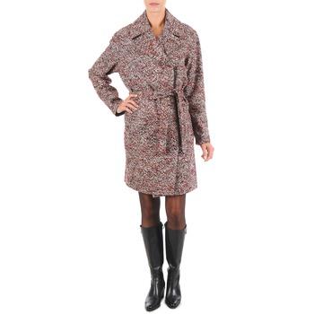 textil Mujer Abrigos Lola MORANDI IPERYON Burdeo