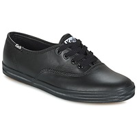 Zapatos Mujer Zapatillas bajas Keds CHAMPION LEATHER Negro
