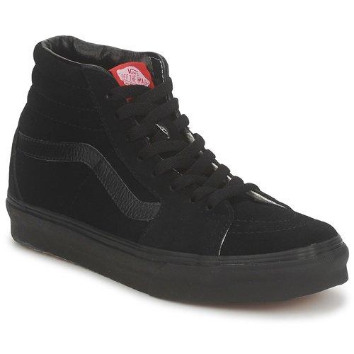 Zapatos Hombre Zapatillas altas Vans SK8 HI Negro / Negro