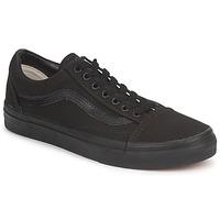 Zapatos Zapatillas bajas Vans OLD SKOOL Negro / Negro