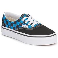 Zapatos Niños Zapatillas bajas Vans ERA KIDS Azul / Negro