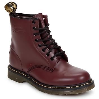 Zapatos Mujer Botas de caña baja Dr Martens 1460 8 EYE BOOT Cereza