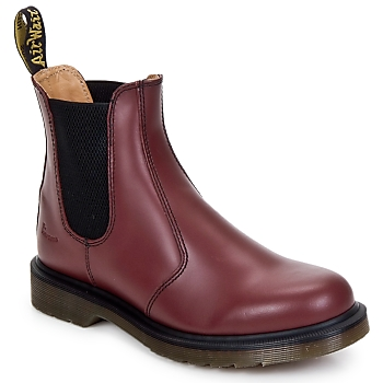 Zapatos Botas de caña baja Dr Martens 2976 CHELSEA BOOT Rojo / Cereza