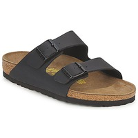 Zapatos Zuecos (Mules) Birkenstock MENS ARIZONA Negro