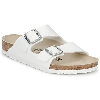 Zapatos Zuecos (Mules) Birkenstock ARIZONA Blanco
