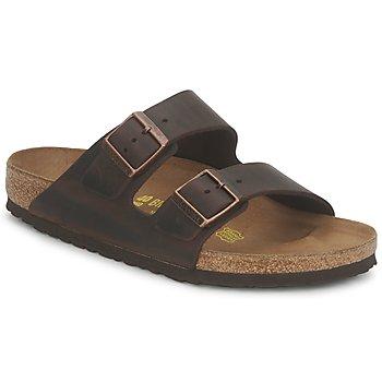 Zapatos Hombre Zuecos (Mules) Birkenstock ARIZONA LARGE FIT Habana
