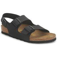 Zapatos Sandalias Birkenstock MENS MILANO Negro