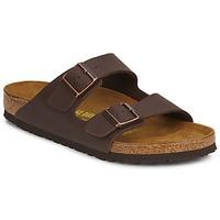 Zapatos Hombre Zuecos (Mules) Birkenstock ARIZONA LARGE FIT Marrón
