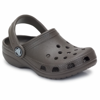 Zapatos Niños Zuecos (Clogs) Crocs KIDS CLASSIC CAYMAN Chocolate