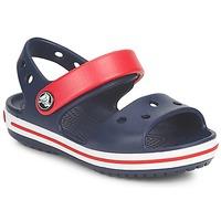 Zapatos Niños Sandalias Crocs CROCBAND SANDAL Marino / Rojo