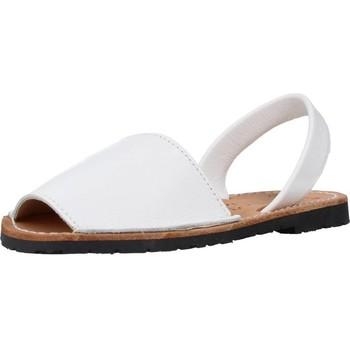 Zapatos Hombre Sandalias Ria 20002 Blanco