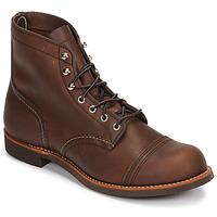 Zapatos Hombre Botas de caña baja Red Wing IRON RANGER Marrón