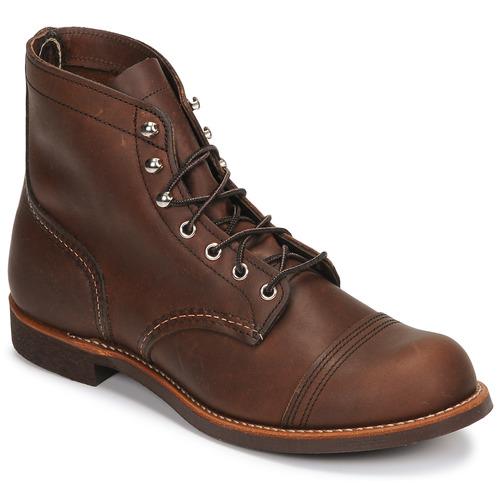 Red Wing IRON RANGER Marrón - - Envío gratis Nueva promoción - - Zapatos Botas de caña baja Hombre 319,00 c96688