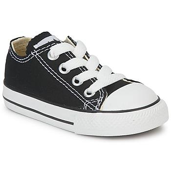 Zapatos Niños Zapatillas bajas Converse ALL STAR OX Negro