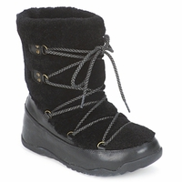 Zapatos Mujer Botas de nieve FitFlop SUPERBLIZZ Negro