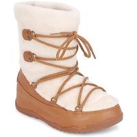 Zapatos Mujer Botas de nieve FitFlop SUPERBLZZ Beige / Marrón