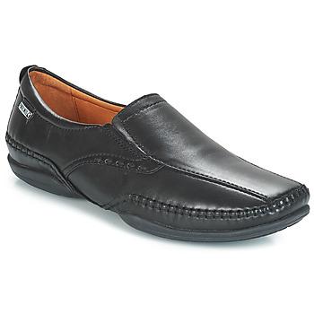 Zapatos Hombre Mocasín Pikolinos MENS PUERTO RICO SLIP ON Negro