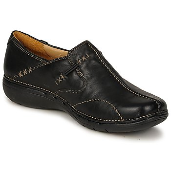 Zapatos Mujer Bailarinas-manoletinas Clarks UN LOOP Negro