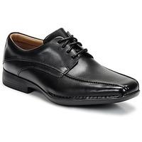 Zapatos Hombre Derbie Clarks FRANCIS Negro