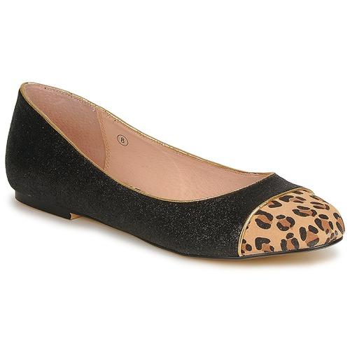 Zapatos Mujer Bailarinas-manoletinas Ravel KENNEDY Negro