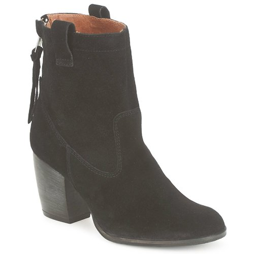 Zapatos French Mujer Botines Ripley Connection Negro 6fbI7yvmYg