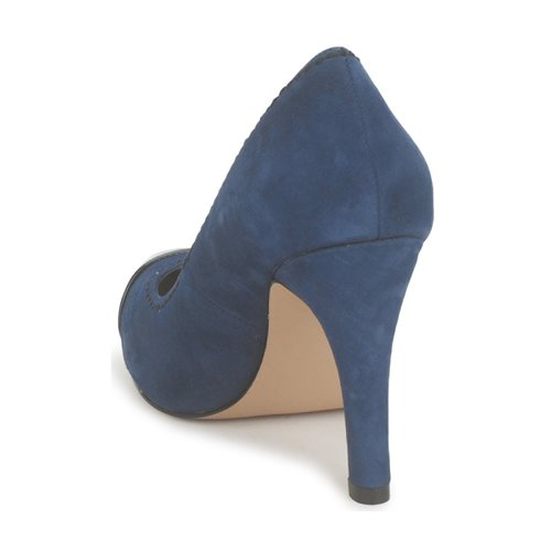 De Connection French Azul Zapatos Tacón Trudy Mujer K1clT3JF